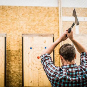 The Axe Effect Axe throwing