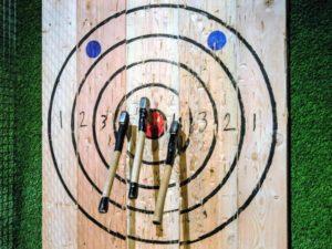 Urban Axe Throwing Target