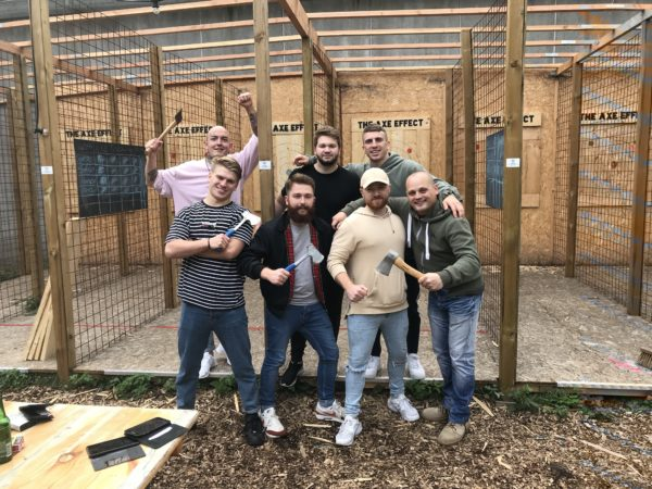 Snacks Axe Throwing Pakket